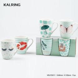 Valentine's Tasse en céramique de couleur pour le Super marché Tiffney