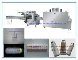 Control de PLC de plaguicidas automática Máquina de embalaje retráctil de botella