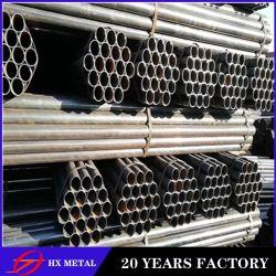 2020 fabricant chinois d'acier SRE Q195-Q345 section ronde rond noir à parois minces tubes soudés en acier doux