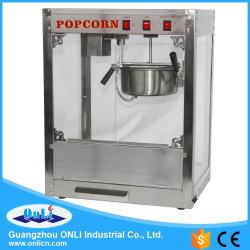 macchina poco costosa commerciale del popcorn dell'acciaio inossidabile 8oz