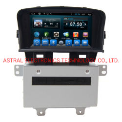 7pouce Chevrolet Cruze 2012 OEM Autoradio Android Système de divertissement avec la navigation GPS Bluetooth WiFi Aux Commande au volant lien miroir Plug and Play