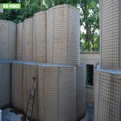 블라스트 방어를 위한 아연 도금 용접 메쉬 Gabion 군사 방제벽 피난처 플러드 방벽 침식 통제
