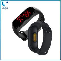 2020 Fashion Bracelet Bracelet en silicone Watch Watch pour détecter la température corporelle cadeau promotionnel