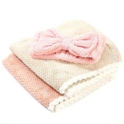Ткань из микрофибры Quick сухие волосы полотенцем поствызывной обработки для женщин с спа с головной стяжкой для распознавания лиц