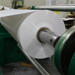 0,5Mm de espessura de corte rígida de PVC branco brilhante o rolo de filme da Impressão Offset