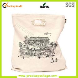 Neue heiße Form gestempelschnittene normale Rohstoff-Baumwollsegeltuchtote-Einkaufstasche