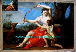 100 % Hand-Painted Musée de peinture d'huile de qualité