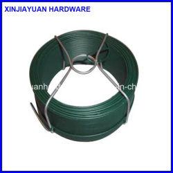 Décoration de gros petite bobine de fil de liaison de jardin en acier galvanisé