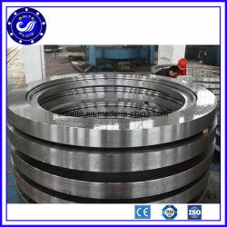 acero al carbono de gran tamaño 42CrMo A105 Anillo laminado rodamiento forjados anillo de acero laminado perfecta