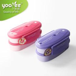 Livre de BPA Grau Alimentício Custom Portable Transporte fácil de plástico PP Lunch Box