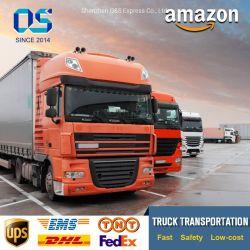FBA poco costosa del Amazon dello spedizioniere di trasporto di servizio di logistica di trasporto di tasso dal trasporto di strada della Cina