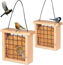 Travando no exterior de madeira Tabela de aves selvagens da estação de Alimentação do Alimentador do Jardim da gaiola de Pássaros