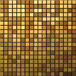 Mosaico del metallo dell'acciaio inossidabile di colore