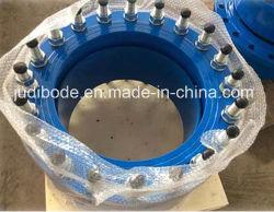 Dn180 Universal large gamme flexible de raccord de tuyauterie en fonte ductile