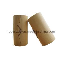 Custom Candle Box Packaging Dawer لون أسود ديكور صندوق هدايا خشبي
