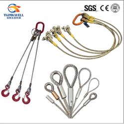 El cable de acero prensado aparejo Subir