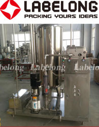 Baixo teor de CO2 Refrigerantes Carbonator/misturador para máquina de engarrafamento de refrigerantes gaseificados