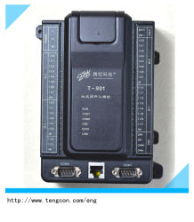 un PLC T-901 dei 32 input di Digitahi con la comunicazione RS485/232 e RJ45