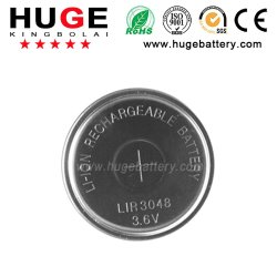 3,6V Li-ion haute capacité pile bouton (bouton cellule)