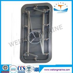 Kundenspezifische CCS ABS Stahl-/schnellreagierende Feuer-Beweis-wasserdichte Aluminiumtür der Marine-A60 für Lieferungen