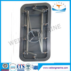 Rendere incombustibile un portello marino a tenuta d'acqua di apertura rapida d'acciaio del codice categoria