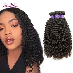 Trama crespa dei capelli di Rmey dell'arricciatura dei capelli brasiliani reali dei capelli umani di 100%