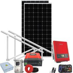 Sonnenenergie-Wasser-Pumpen-System für Ausgangsbewässerung-Schwimmen