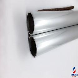 Plata brillante perfil hueco extrusión de aluminio 6063 T5 del tubo de aluminio de tubo redondo /