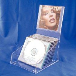 Настраиваемые Wholesales акриловый держатели CD и DVD, дисплей