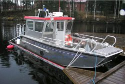 6,8 m Grandsea Véhicule en aluminium/aluminium/fret Roro Lct de péniches de débarquement pour la vente de bateaux