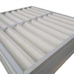 섬유유리 FRP GRP 유리 섬유에 의하여 강화되는 복합 재료 미늘창 Windows 주문을 받아서 만들어진 단면도