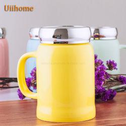 مبتكر [كفّ موغ] مرآة غطاء فنجان فراغ فنجان خزفيّة يعلن فنجان هبة [نو.] [أونيكلور] 2