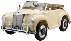 Rit van de Jonge geitjes RC van Mercedes de Benz Vergunning gegeven op het Stuk speelgoed van de Auto