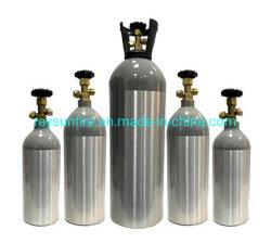 La aleación de aluminio Oxigeno bombona de gas