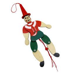 Pinocchio Stringer Holzspielzeug Pinocchio Puppentpuppe für Kinder