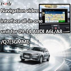 La interfaz de video de navegación GPS para (2009-2014) el Audi A6L/R8/Q7/S6 (LLT-Audi-Ver4.5)