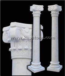 Natürlicher römischer Steinpfosten/Spalte für Aufbau-Dekoration