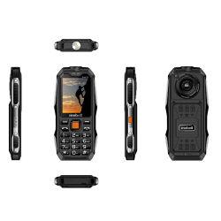 中国OEM三重SIMのカード力バンク機能大きい電池の険しい携帯電話