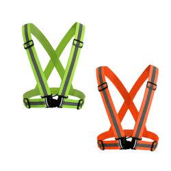 Reflectante Hi-Vis cinturón de seguridad con diferentes colores