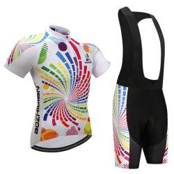 Vestiti di riciclaggio asciutti di velocità di ventilazione del sudore di sport esterni per la femmina