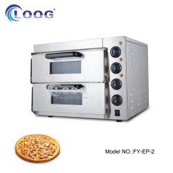Pizza électrique double couche Making Machine gâteau d'oeufs Gaufrier Matériel de cuisine Restaurant four à pizza fast-food