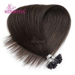 毛の拡張Remyの人間の毛髪をネイリングしなさい