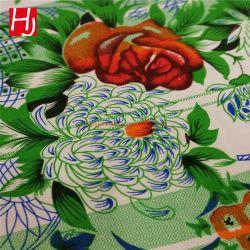 Llanura de la fábrica 100% Poliéster TEJIDO Sábana impresión textil hogar