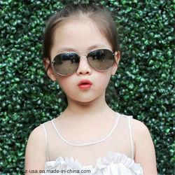 Retro clássico Bonitinha Moda Liga de óculos de óculos para crianças crianças óculos de sol