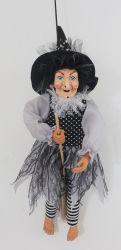 Dekoration-handgemachtes Poly Hexe-Halloween-Ostern