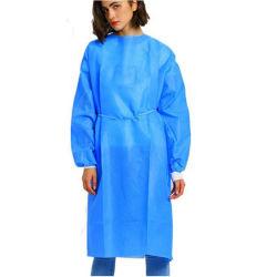 Isolement du virus de l'environnement Non-Woven jetables Non-Toxic le phoque à capuchon des vêtements de travail