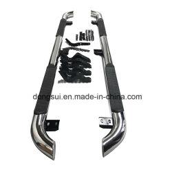 Degrau lateral de aço inoxidável para Toyota Hilux Revo
