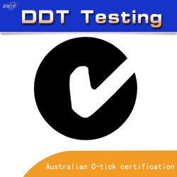 Autoridade e Professional C-Tick Serviço de Certificação de teste