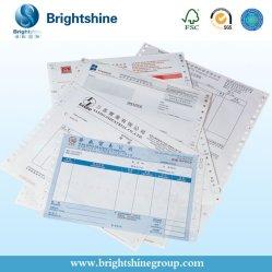2ply /3 plis 55gramme/50gramme Image bleu/noir de la Chine Carbonless /RCN Copier/Papier à copier