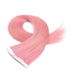 Human Hair Extensions From One Donor Cuticle Intact Adhesive Premium White Tape Hair 20PCSのバージンRemy Tape